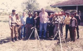 1983 Total solar eclipse Bangil, Java, Indonesia