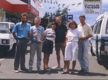 1991 Annular solar eclipse North Island, New Zealand