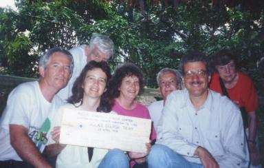 1995 Annular solar eclipse group Amazon, Peru