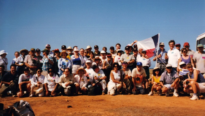 1998 Total solar eclipse group Watamula, Curacao 1997 Total solar eclipse group Darhan, Mongolia