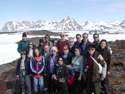 2003 Annular solar eclipse group in Greenland