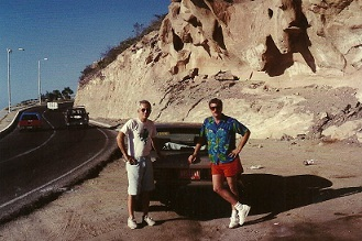 1993 Total lunar eclipse expedition Baja, Mexico