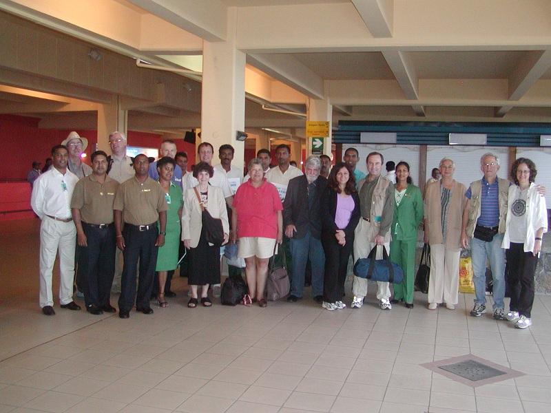 2004 Transit of Venus group, Mauritius