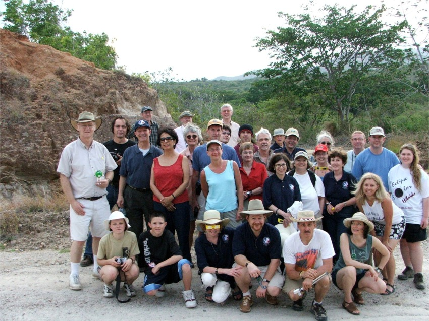 2005 Annular solar eclipse group Penonome, Panama