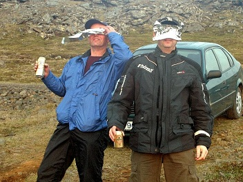annular eclipse in Iceland, solar eclipse viewing safety
