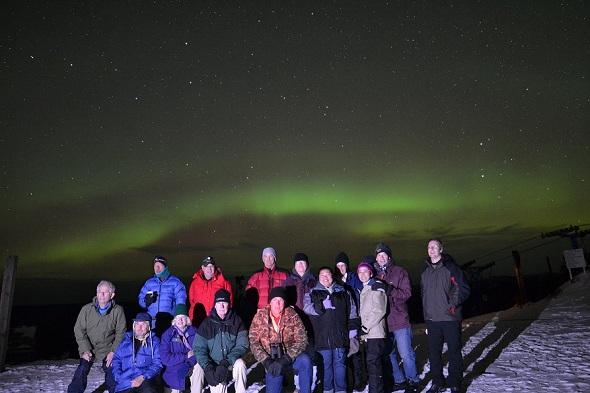 AURORA VIEWING TOUR OCTOBER 2012 IN ALASKA