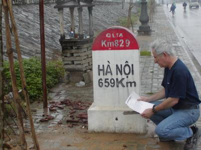 On the highway to Hanoi, Vietnam, March 2003