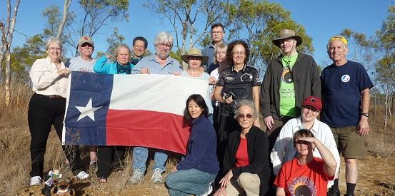 MOUNT CARBINE, AUSTRALIA, NOVEMBER 2012 TOTAL ECLIPSE