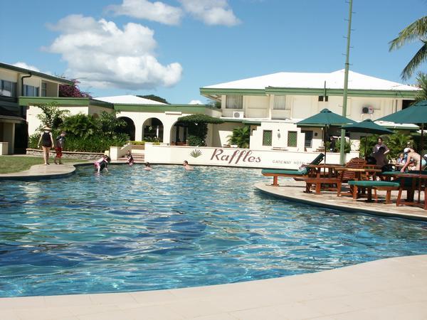 Raffles Hotel in Fiji