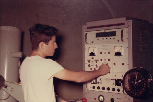 In my undergraduate days (April 1969) I worked at a GEOS tracking station at Moore Field, Mission Texas.