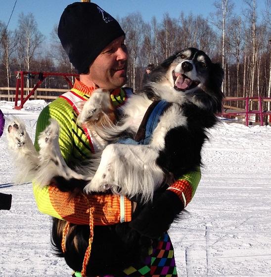 Skijor Racer with Dog_krull