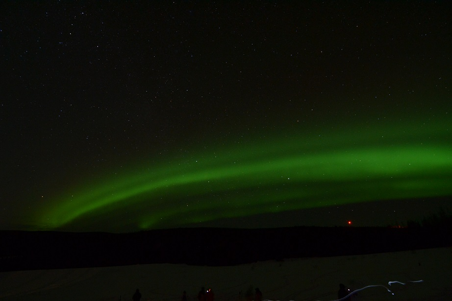 moving light, aurora viewing