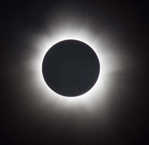 corona of sun solar eclipse