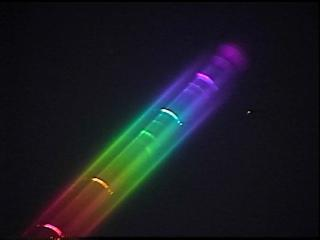 flash spectrum solar eclipse wavelengths