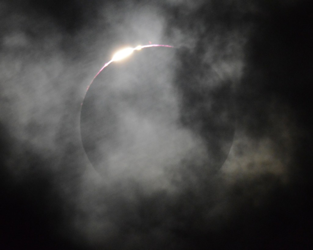 shadow bands solar eclipse